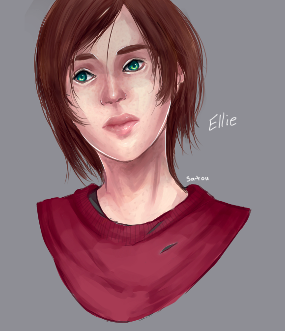 Ellie Practice by Sa-tou