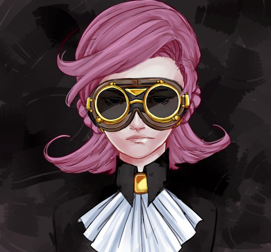 Goggles by Sa-tou
