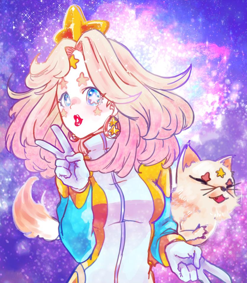 A Fox and Shooting Star by Sa-tou
