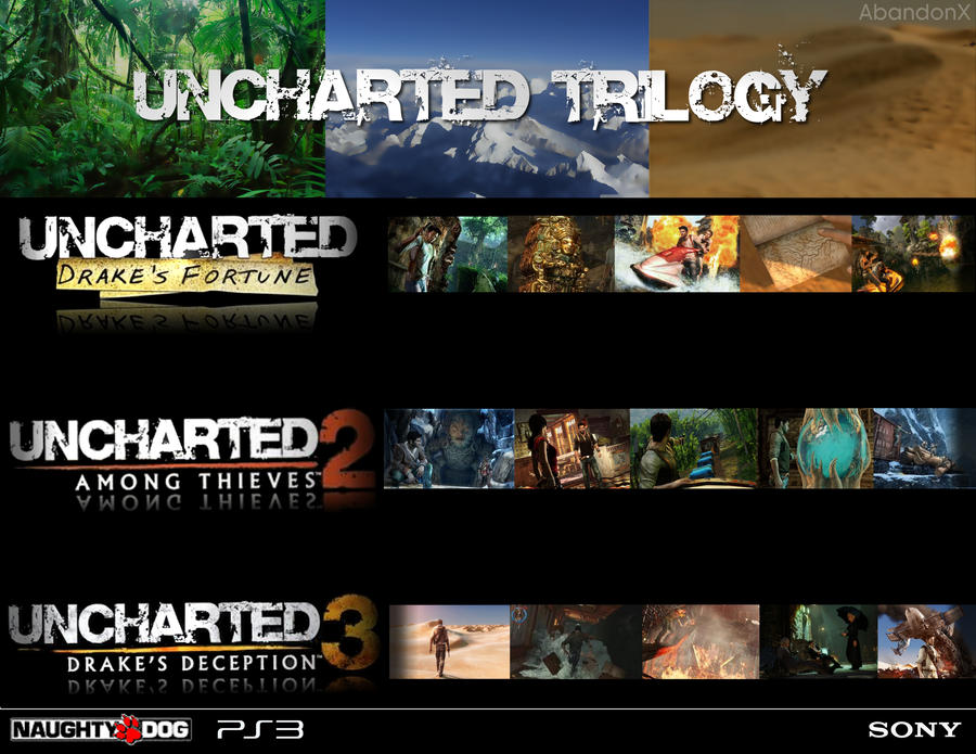 Uncharted Trilogy By AbandonX