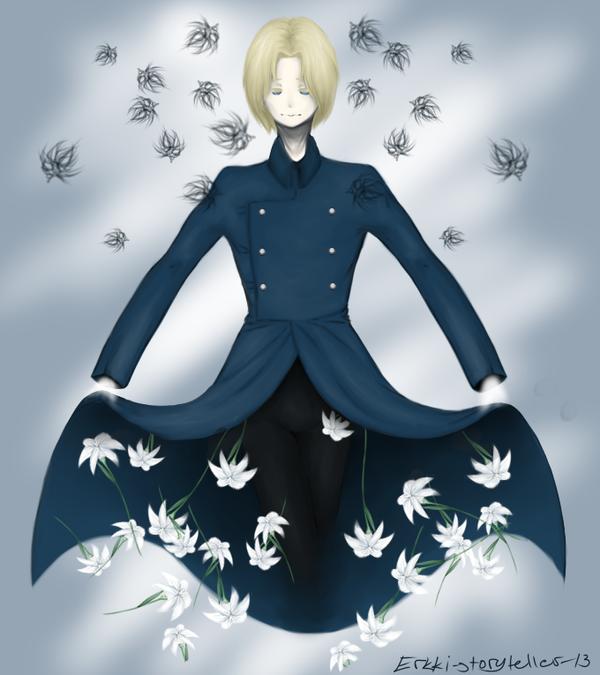 Lilies by Erkki-storyteller-13