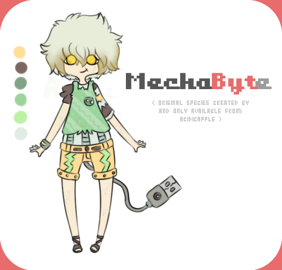 Mechabyte Single [closed] by acidicapple