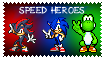 speed heroes stamp by yoshi888