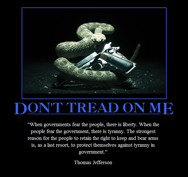 don 39 t tread on me by thewesinawesome on deviantart