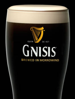 Gnisis Black Lager - Imported from Morrowind