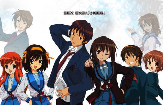 the genderbending of haruhi suzumiya