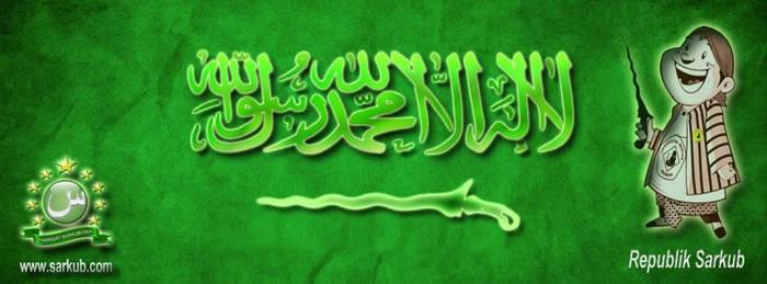 Bendera KSA (Kingdom of Sarkub Aswaja)