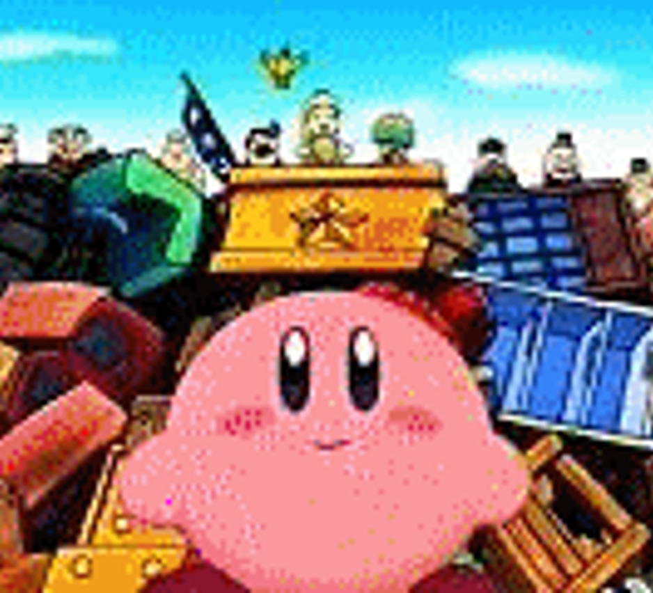 Cute Kirby And Pikachu Cute kirby by poyquinn