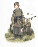 Unterscharfuhrer 1943 - Colored