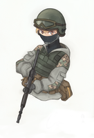 Spetsnaz by The-King-in-Grey