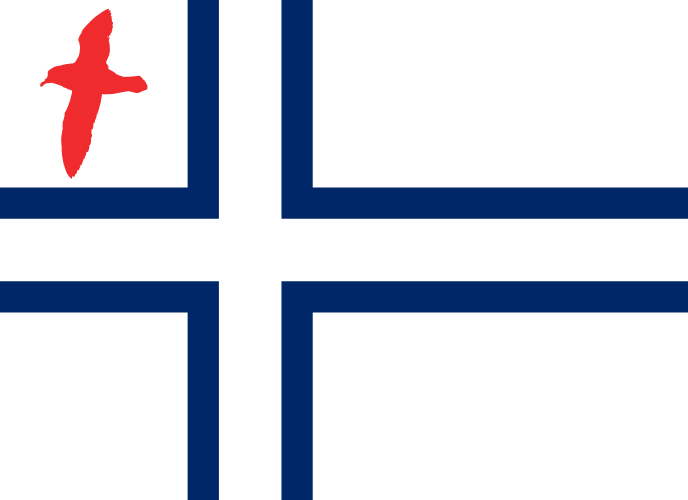 Flag of Peter I Island by RandomGuy32