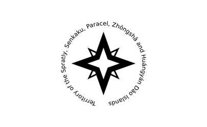 Flag of the Spratly, Senkaku, Paracel, [...]