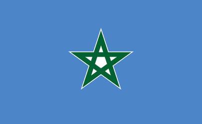 Flag of Neutral Zone (Melilla)