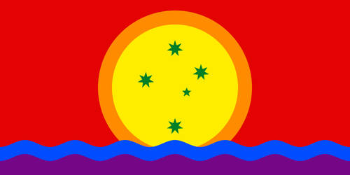 Flag of the Coral Sea Islands