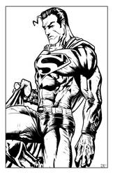 Superman ink by mdmodeler