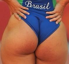 Butt of Alex Morgan by TrevLafoe