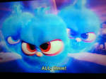 Flying Angry Blues as seen in the Angry Birds movi by TrevLafoe