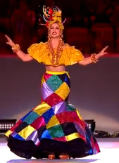 Carmen Miranda as Portrayed by Roberta Sa by TrevLafoe