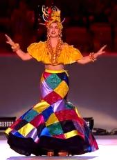 Carmen Miranda as Portrayed by Roberta Sa by TrevLafoe