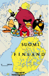 Angry Birds of Finland by TrevLafoe