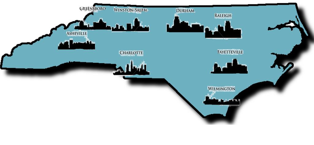 Cities of north carolina by trevlafoe on deviantart for Craft shows in nc 2017