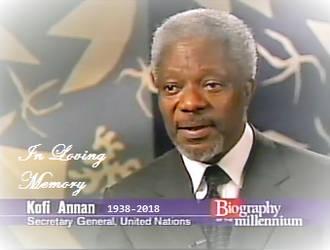 In loving memory of Kofi Annan by TrevLafoe