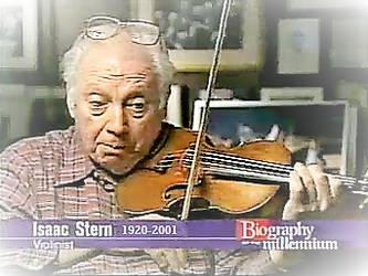 Isaac Stern by TrevLafoe