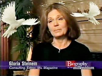 Gloria Steinem by TrevLafoe