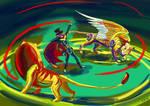 Digital circus by sapsanka
