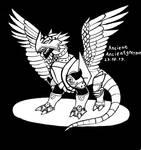 AncientGreymon by sapsanka