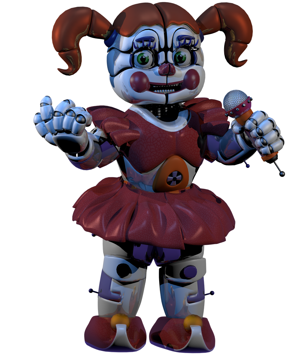 Circus Baby V5 By Fazersion On Deviantart