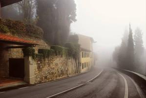 Into the fog... by ChudnayaMamba