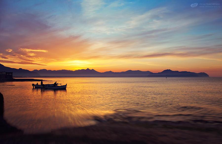 Sicily sunset by ChudnayaMamba