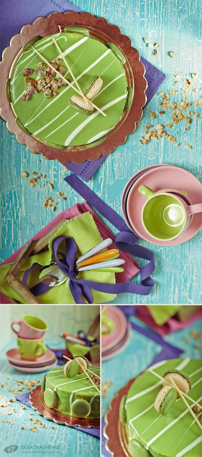 Mousse al pistacchio. Triptych by ChudnayaMamba
