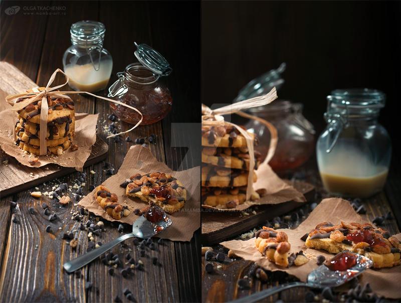 Peanut cookies by ChudnayaMamba