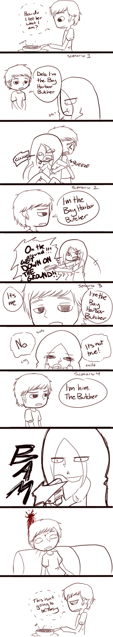 Dexter Comic by vSock