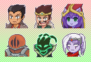 League of Pixel by vSock
