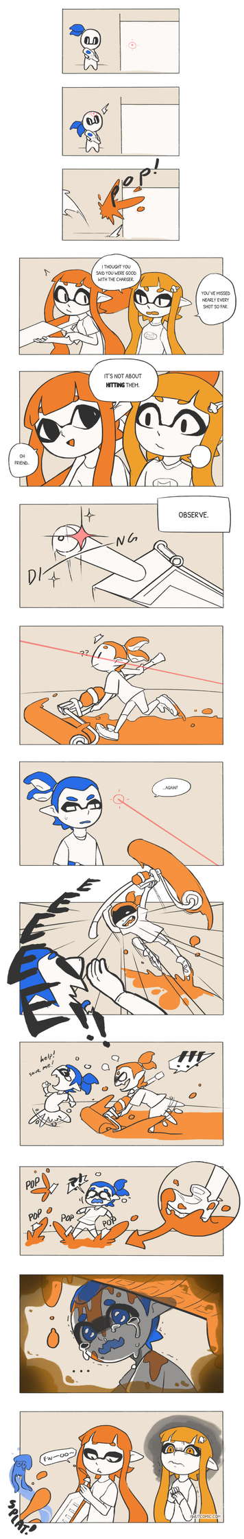 Splatoon: Charger Strats by vSock