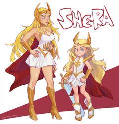 She Ra (+ Smol Ra)