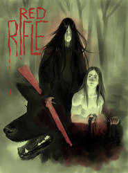 Red Rifle Title Page by HoMcQ