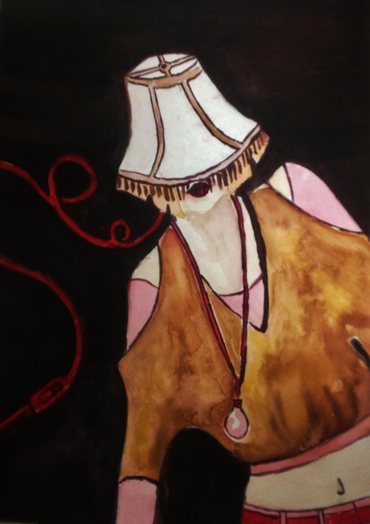 Lamp Shade On Head : The lampshade on my head by sitrusthegreat deviantart
