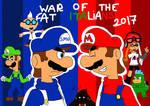 SMG4: War of The Fat Italians 2017