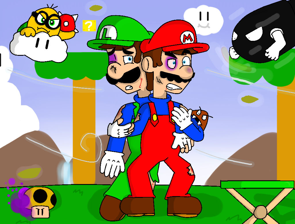 Super Mario Bros The Lost Levels In A Nutshell By Dahpinkgurl On Deviantart