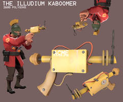 The Illudium Kaboomer by Ducksink