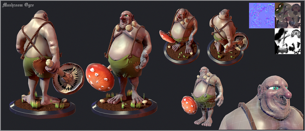 Mushroom Ogre by Ducksink