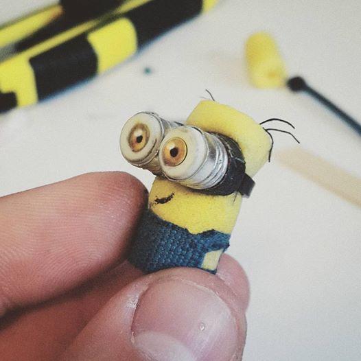 Ear Plug Minion by Ducksink