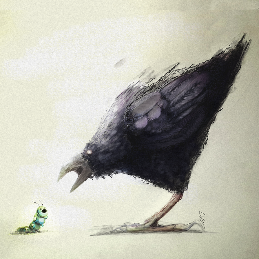 crow by Ducksink