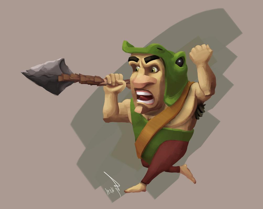 Mophed Hontaar Spearman by Ducksink