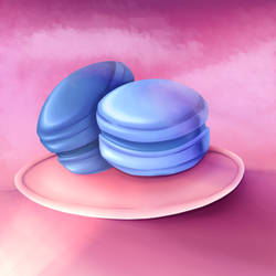 Macaroons (Practice drawing)