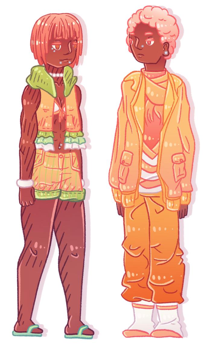 siblings by NightmaresInChibi